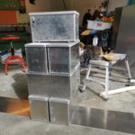 Batterikasser i aluminium